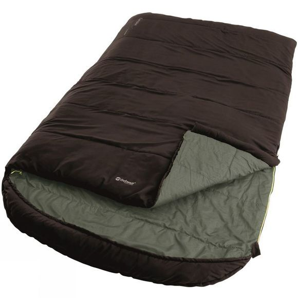 Outwell Campion Lux Double Synthetic Sleeping Bag Brown