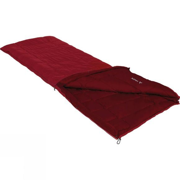 Vaude Navajo 900 Sleeping Bag Dark Indian Red