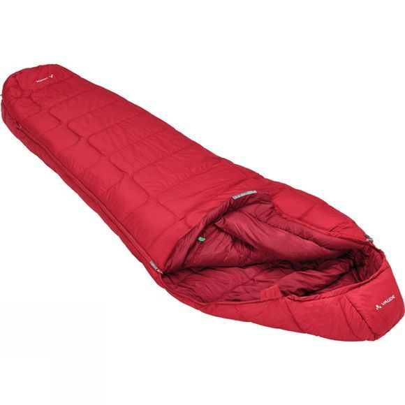 Vaude Sioux 800 Sleeping Bag Dark Indian Red