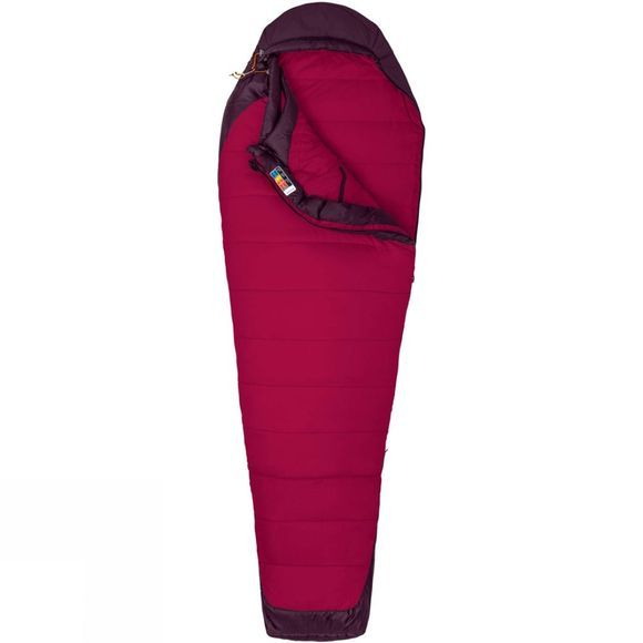 Marmot Womens Trestles Elite 20 Sleeping Bag Madder Red/Dark Purple