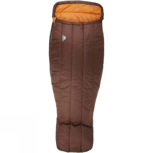 Mountain Equipment Womens Sleepwalker III Sleeping Bag Regular Dark Choc/Blaze