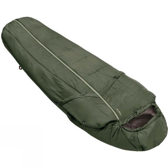 Vaude Gamplüt 800 SYN Sleeping Bag Cedar Wood