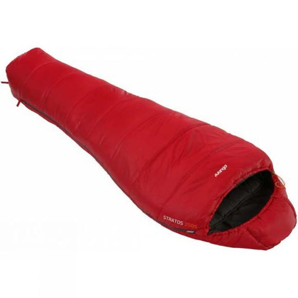 Vango Stratos Alpha 250S Sleeping Bag Red