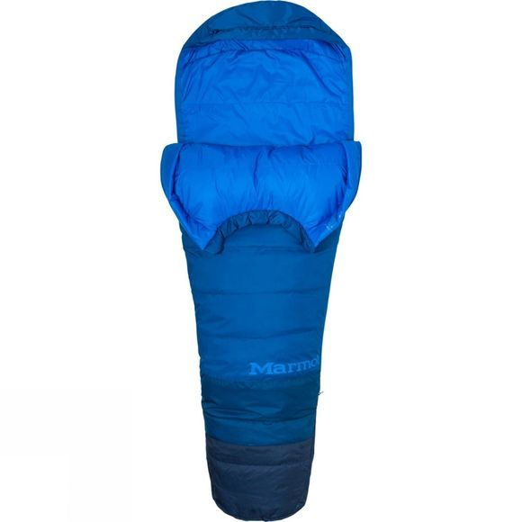 Marmot Mens Trestles 15 TL Long Sleeping Bag Classic Blue/Estate Blue
