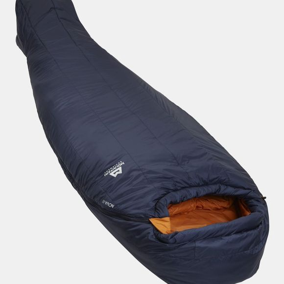 Mountain Equipment Mens Nova III Sleeping Bag Long Cosmos / Blaze