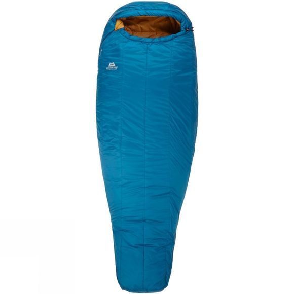 Mountain Equipment Womens Nova III Sleeping Bag Long Ink/Pumpkin Spice