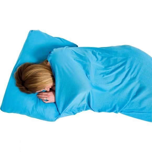 Lifeventure Coolmax Sleeping Bag Liner Aqua