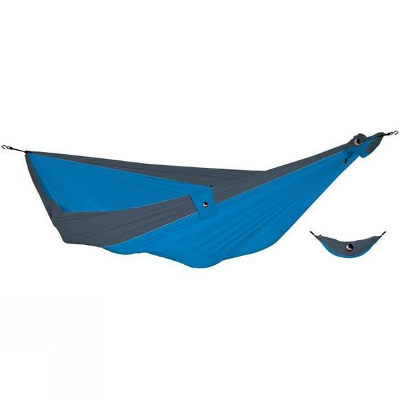 Ticket To The Moon King Size Hammock Aqua/Dark Grey