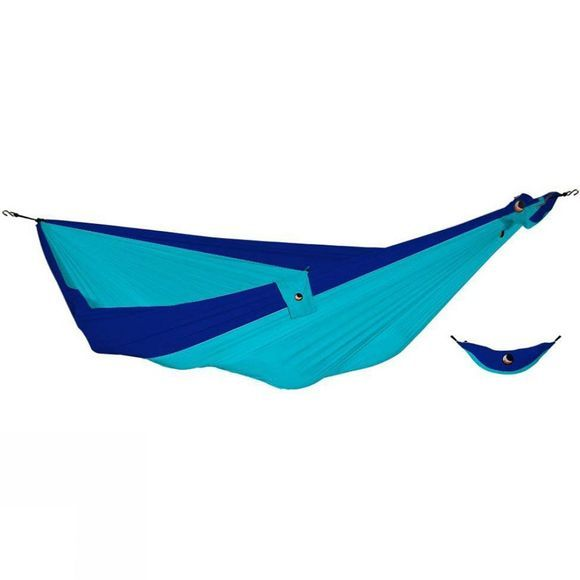Ticket To The Moon King Size Hammock Turquoise/Royal Blue