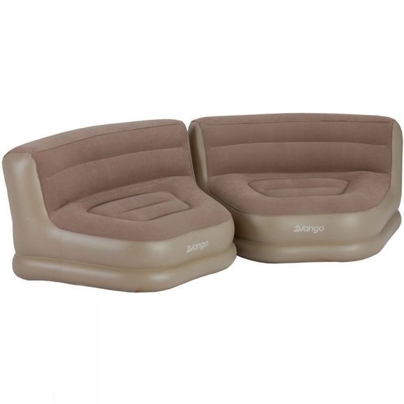 Vango Inflatable Relaxer Chair Set (pair) Nutmeg