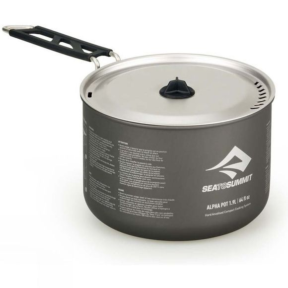 Sea to Summit Alpha Pot 1.9L Grey