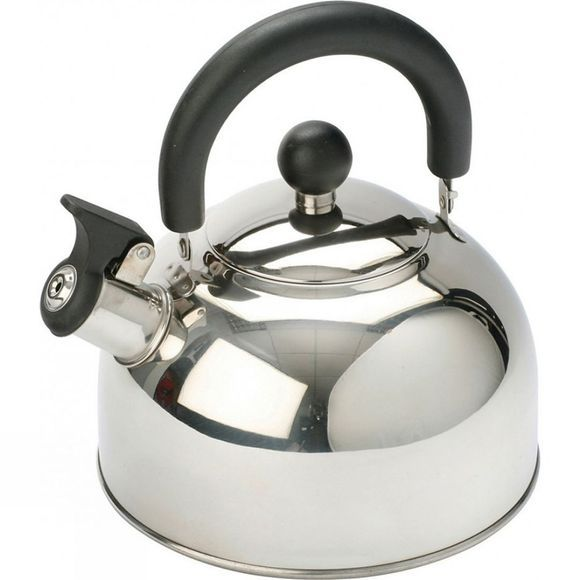 Vango Stainless Steel Kettle with Folding Handle 1.6L No Colour