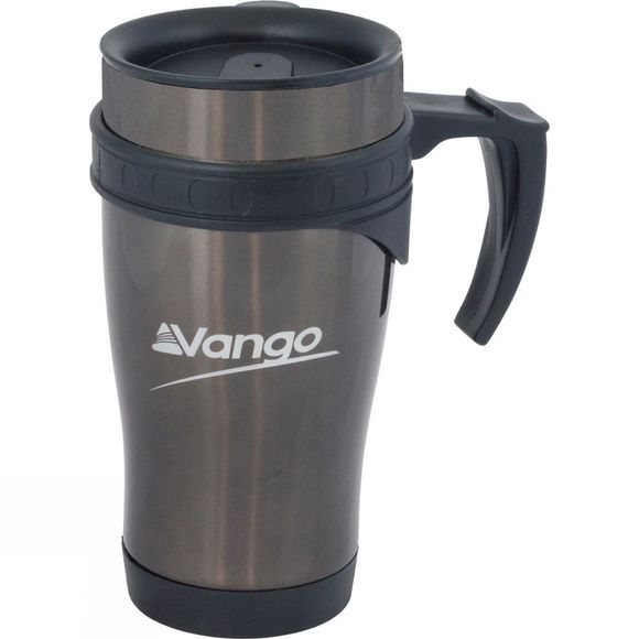 Vango Stainless Steel Mug 450ml Gunmetal