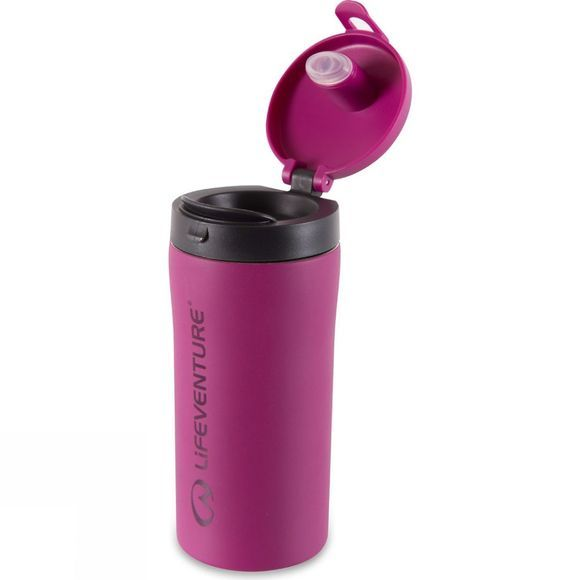 Lifeventure Flip-Top Thermal Mug Pink