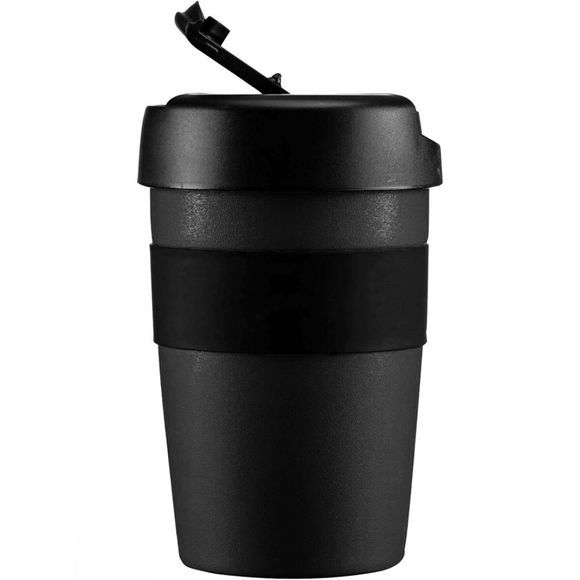 Lifeventure Insulated Coffee Cup 350ml Matt Black