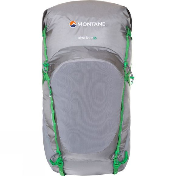 Montane Ultra Tour 55 Rucksack Cloudburst Grey