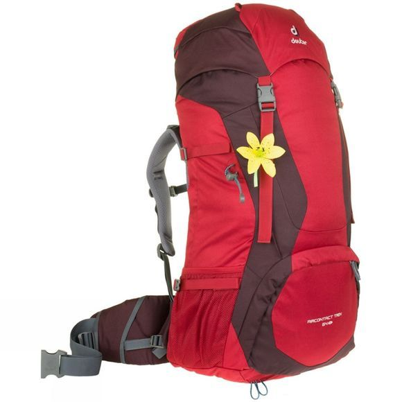 Deuter Womens Air Contact Trek 64 SL Rucksack Cranberry-Aubergine