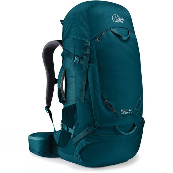 Lowe Alpine Womens Kulu ND60:70 Rucksack Mallard Blue