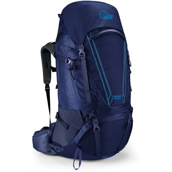 Lowe Alpine Womens Diran ND50:60 Rucksack Blueprint