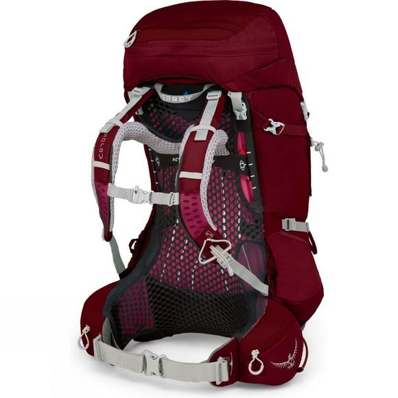 Osprey Womens Aura AG 50  Gamma Red