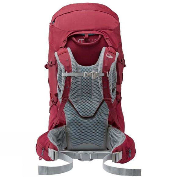 Lowe Alpine Womens Manaslu ND50:65 Rucksack Raspberry