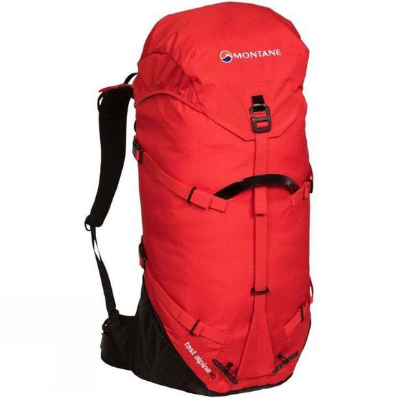 Montane Fast Alpine 40 Rucksack Flag Red