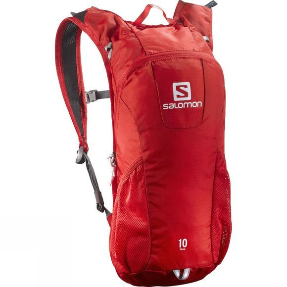 Salomon Trail 10 Pack Bright Red / White