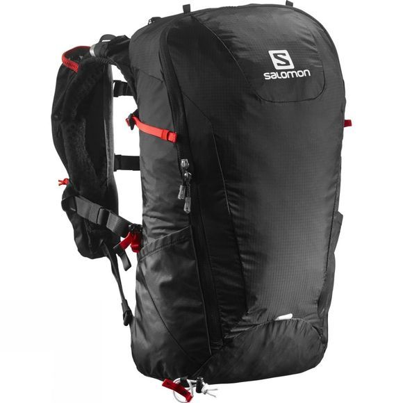 Salomon Peak 20 Rucksack Black/Bright Red