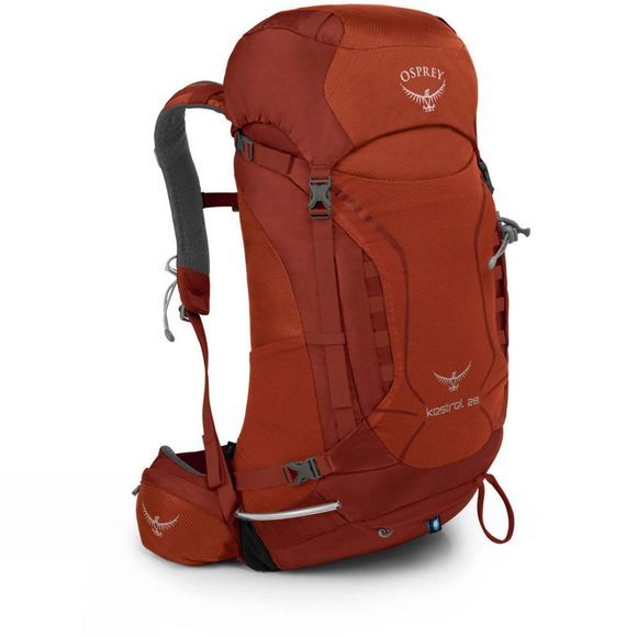 Osprey Kestrel 28 Rucksack Dragon Red