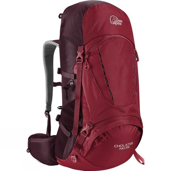 Lowe Alpine Womens Cholatse ND35 Rucksack Rio Red