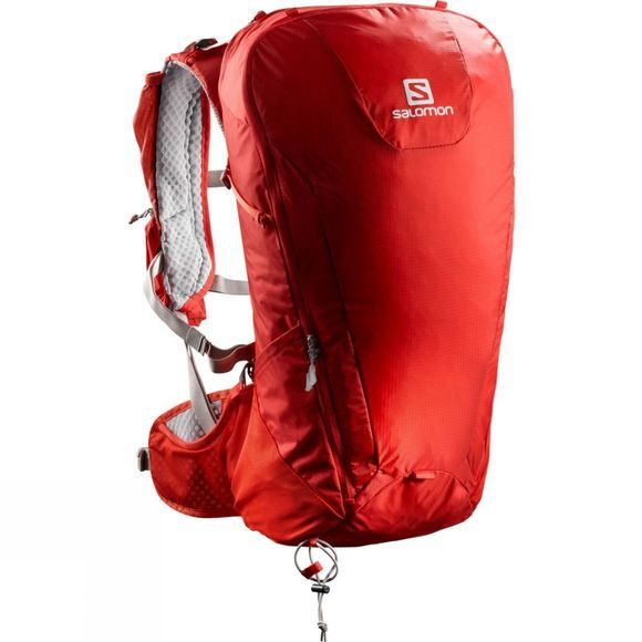 Salomon Peak 30 Rucksack Fiery Red/Alloy