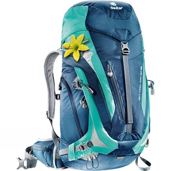 Deuter Womens ACT Trail Pro 32 SL Rucksack Midnight / Mint