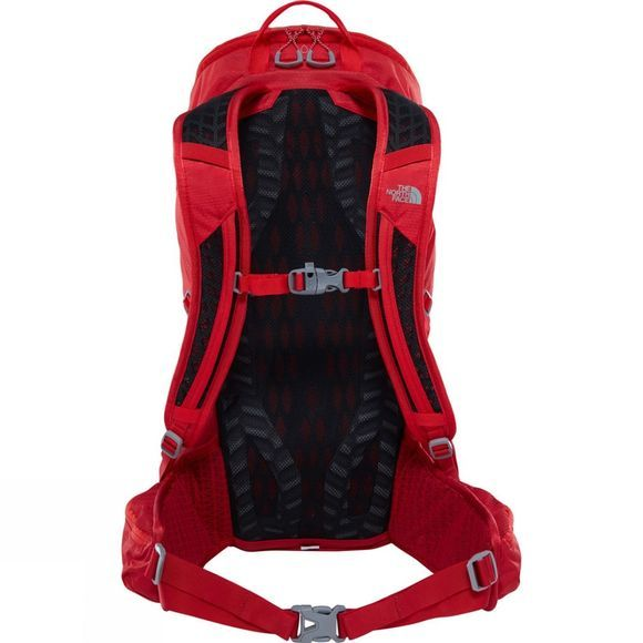 The North Face Litus 22 RC Rucksack Rage Red/High Risk Red