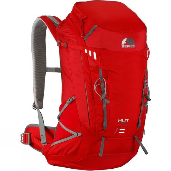 Vango F10 Hut 35 Rucksack Chilli Red