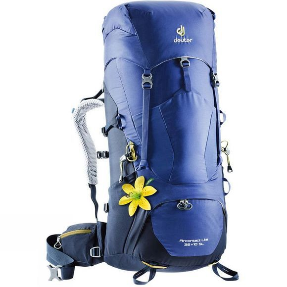 Deuter Womens Aircontact Lite 35+10 SL Backpack Indigo-Navy