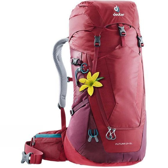 Deuter Women's Futura 24 SL Backpack Cranberry-Maroon