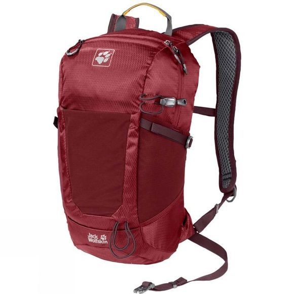 Jack Wolfskin Kingston 16 Rucksack Red Maroon