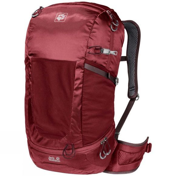 Jack Wolfskin Kingston 30 Rucksack Red Maroon