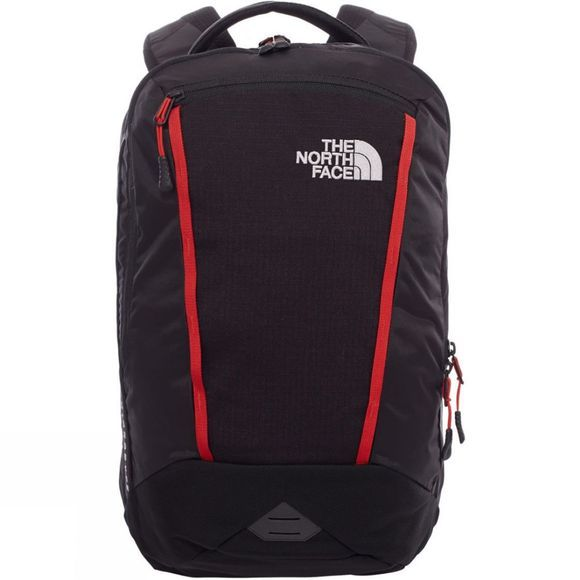 The North Face Microbyte Rucksack TNF Black/Pompeian Red