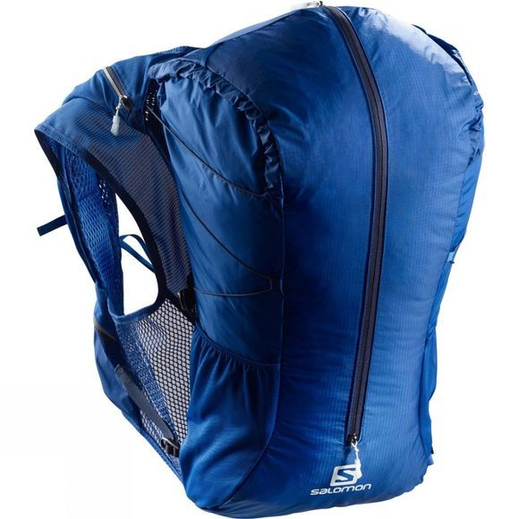 Salomon Mens Out Peak 20 Rucksack Surf The Web/Dress Blue