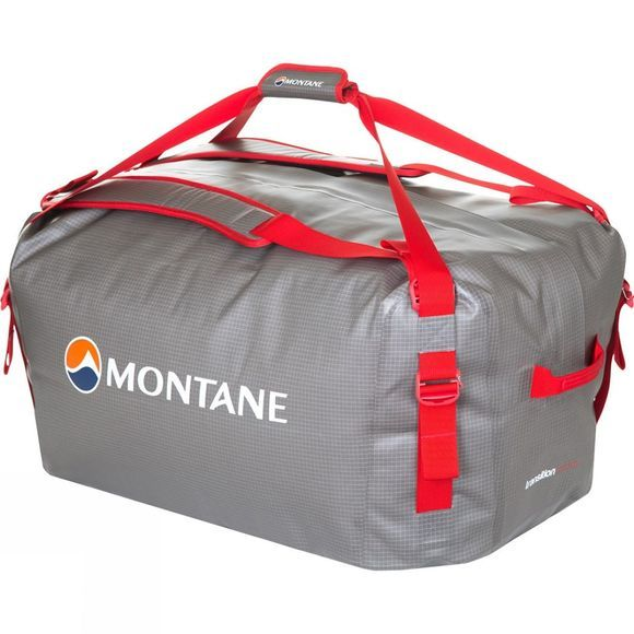 Montane Transition H2O 100 Kit Bag Shadow/ Alpine Red