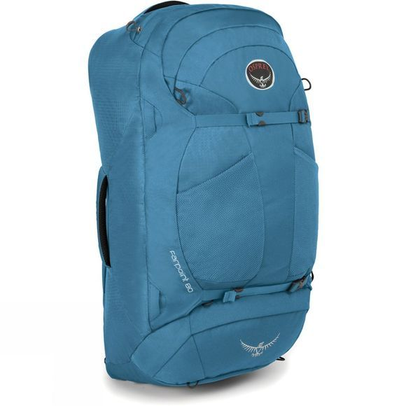 Osprey Farpoint 80 Travel Pack Caribbean Blue