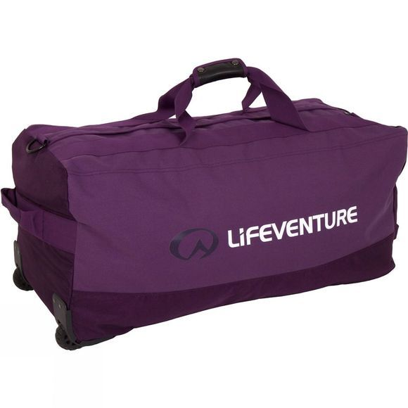 Lifeventure Expedition Duffel Wheeled 120L Purple