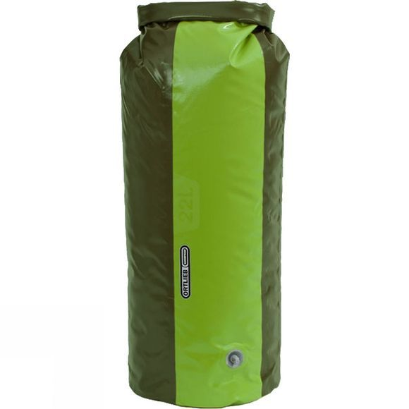 Ortlieb Dry Bag PD350 22L with Valve Olive/Lime