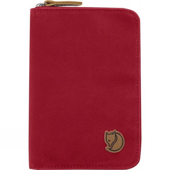 Fjallraven Passport Wallet Deep Red