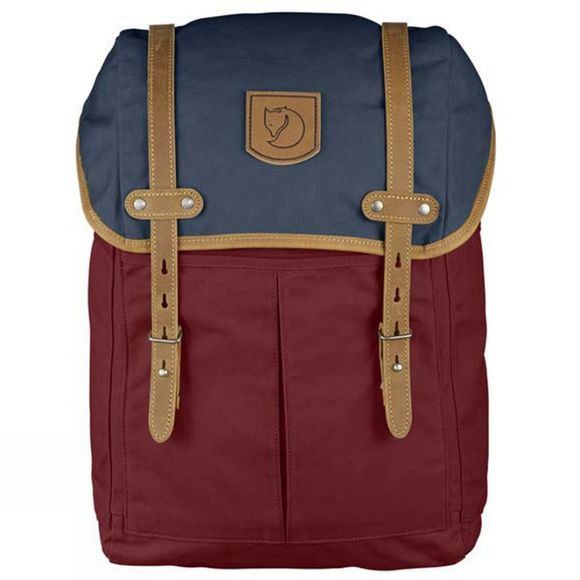 Fjallraven Rucksack No. 21 Medium Ox Red-Navy