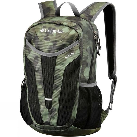 Columbia Beacon 24L Rucksack Peatmoss Lined Camo Print