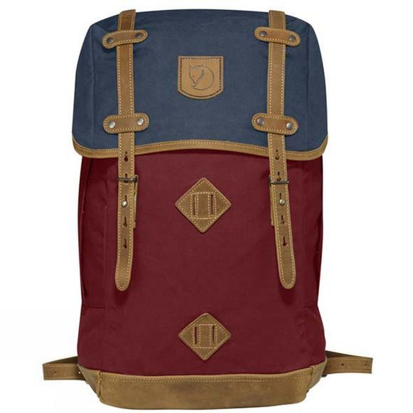 Fjallraven Rucksack No. 21 Large Ox Red-Navy