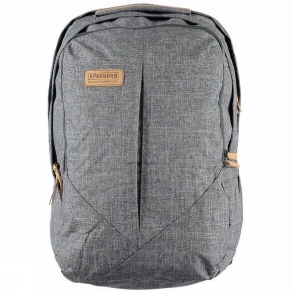 Ayacucho Wire Heritage 30 Rucksack Grey Heather