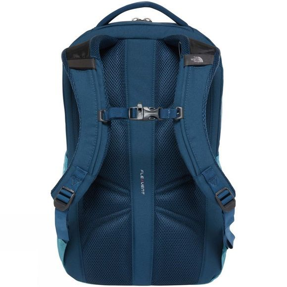 The North Face Womens Vault Rucksack Storm Blue/Blue Wing Teal